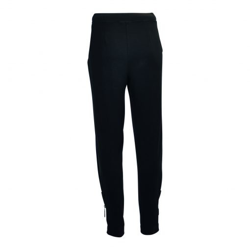 Pants, zip details, wide elasticated waistband