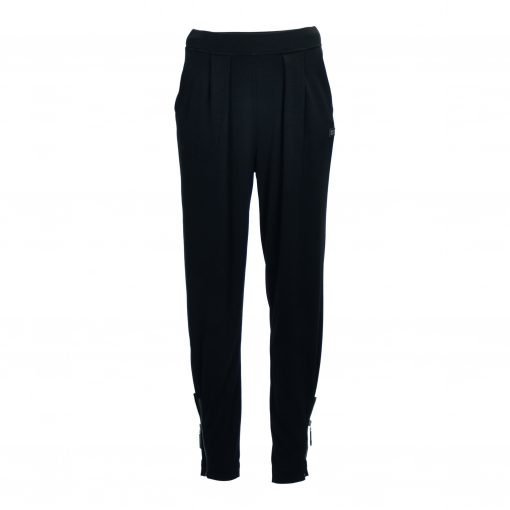 Pants, zip details, wide elasticated waistband, e-avantgarde