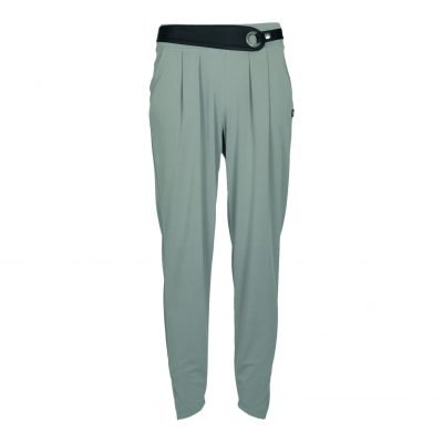 pants with belt in soft material with wide elasticated waistband, e-avantgarde