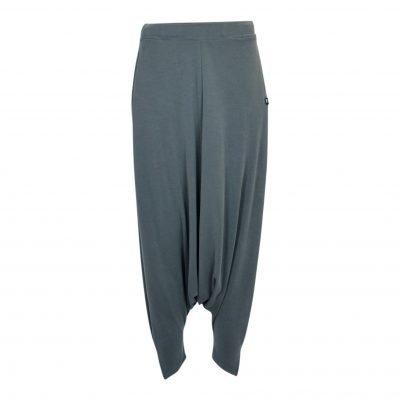 Harem bukser med elastik taljebånd forside dust