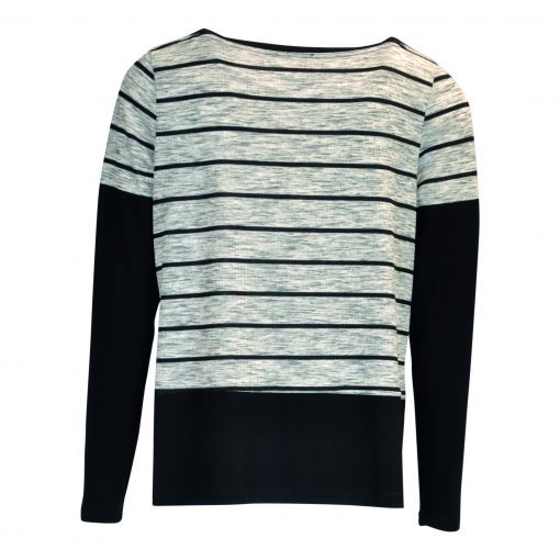 T-shirt with long sleeves and dobbelt layer