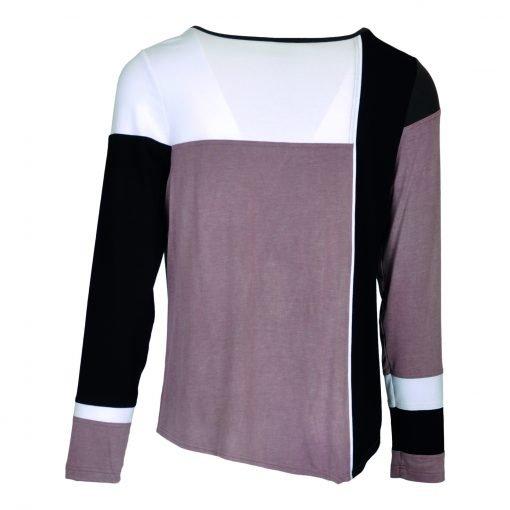 T-Shirt multi farvet bagside tullip