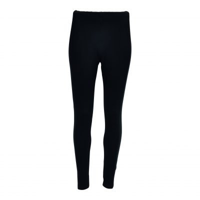 Leggings med stribe bånd forside black