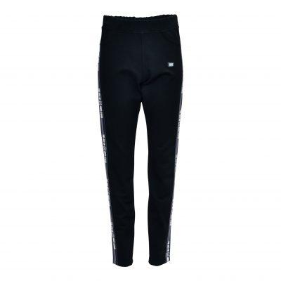 Bukser / leggings i viskosekvalitet med bred elastik i talje - e-avantgarde