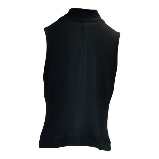 waistcoat with zipper on breast e-avantgarde