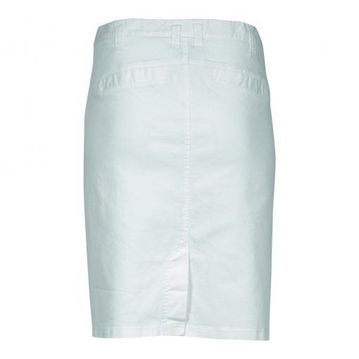 Skirt stretch-denim in cotton blend with belt loops - e-avantgarde