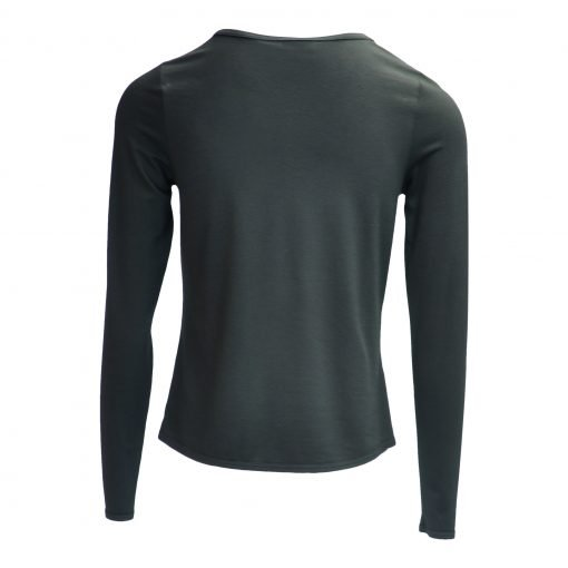 T-shirt in viscose jersey with a round neckline