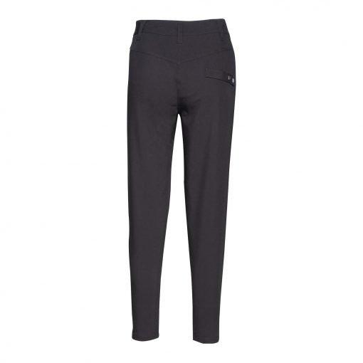 Woman Pants with Saddleback back black