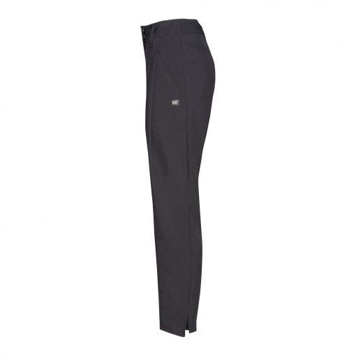 Woman Pants with Saddleback side black