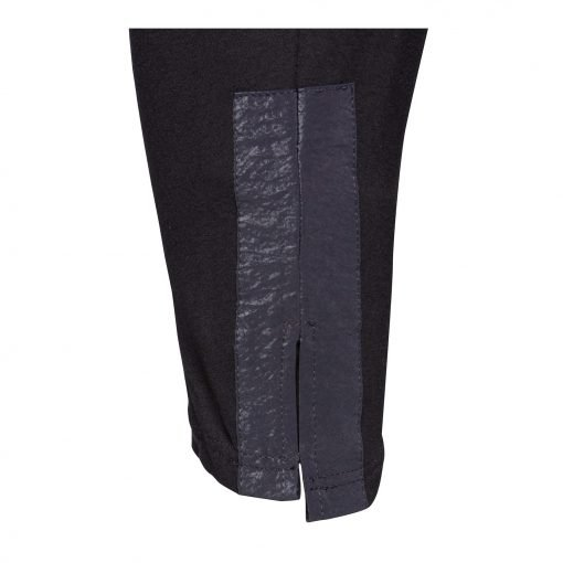 Kvinde Viskose Bukser med Trendy detaljer black black