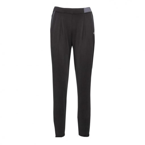 Woman Pants with Sporty Strips front dark