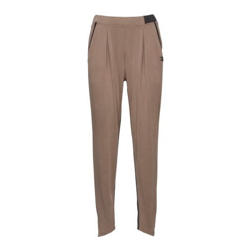 Woman Pants with Sporty Strips front mud