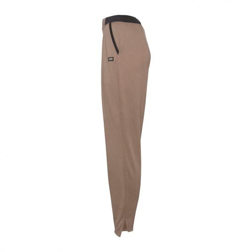 Woman Pants with Sporty Strips side mud