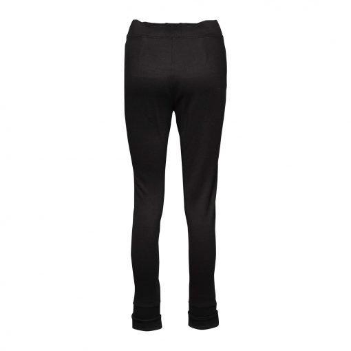 Kvinde Sporty Bukser med to Lynlåse bagside black