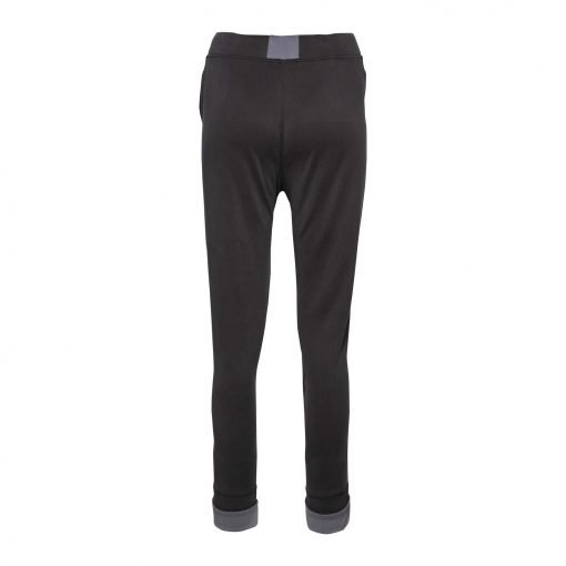 Woman Sporty Pants with Two Zippers back dark