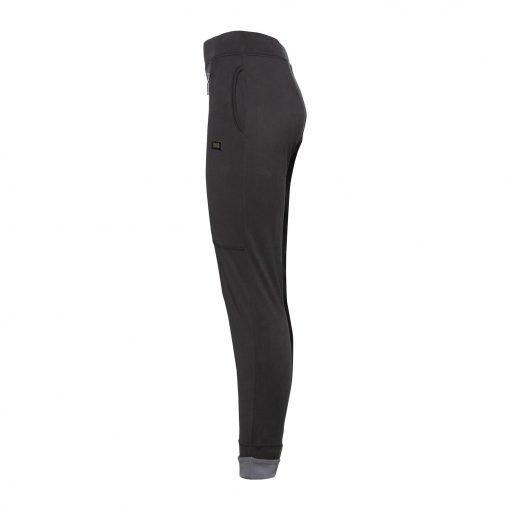Kvinde Sporty Bukser med to Lynlåse side dark