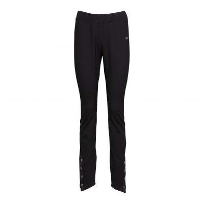 Kvinde Slim Fit Bukser forside black