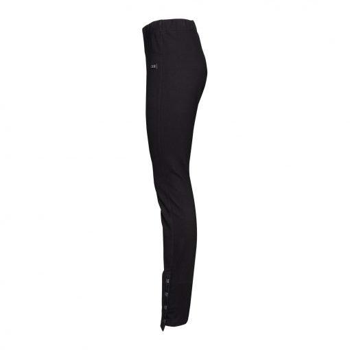 Kvinde Slim Fit Bukser side black
