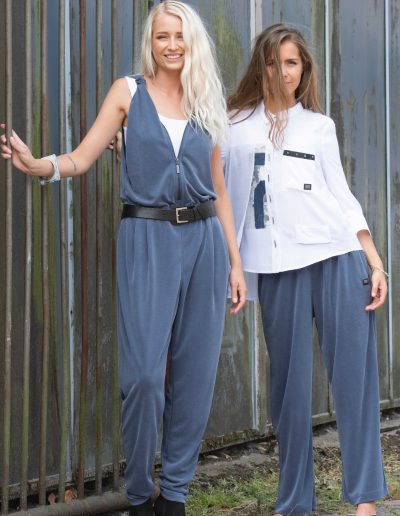 jumpsuit modal viscose woman e avantgarde